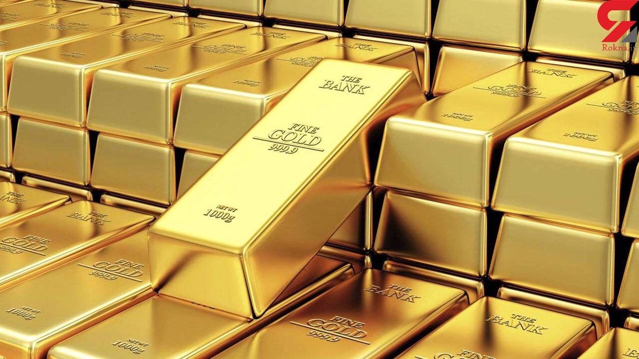 قیمت جهانی طلا امروز جمعه 3 اردیبهشت