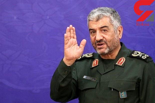 فرمانده سپاه پاسداران انقلاب اسلامی وارد لرستان سیل زده شد