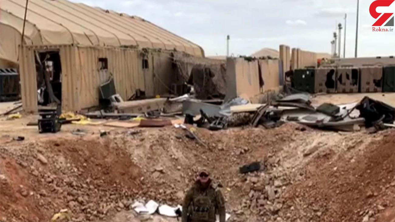 بایدن لحظه به لحظه حمله موشکی سپاه به پایگاه امریکا را دید + فیلم جدید