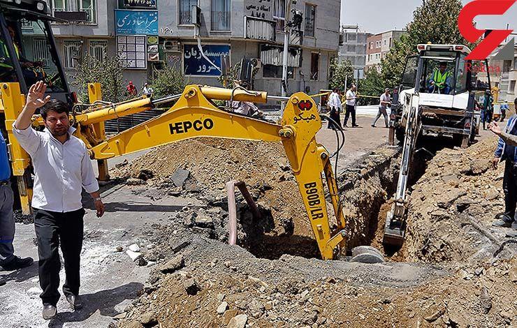 هویت جسد کارگر افغان مترو شناسایی شد/ تلاش برای یافتن جسد راننده بیل مکانیکی