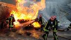زبانههای آتش شرکت ایران چسب با تلاش 120 نیرو فروکش کرد