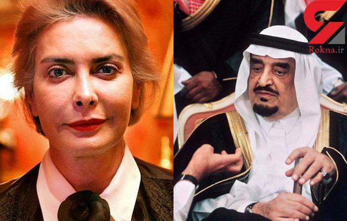 ناگفته های همسر پنهانی پادشاه عربستان + فیلم