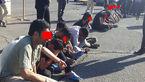 دستگیری 9 قمه کش وحشی خیابان های تهران + فیلم و عکس