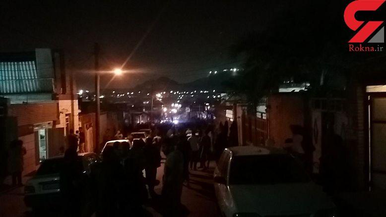 انفجار گاز یک خانه را آوار کرد