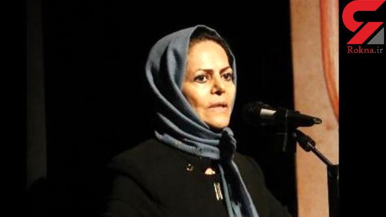 پیکر  «مریم قاضی» در مهاباد به خاک سپرده شد + فیلم