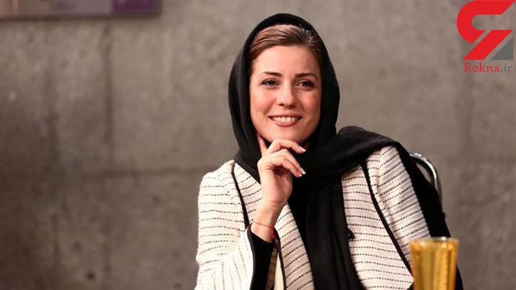 سارا بهرامی در کنار کارگردان صاحبنام سینمای ایران +عکس
