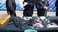 دستگیری 4 سوداگر مرگ در زاهدان و خاش / کشف سلاح و مهمات جنگی