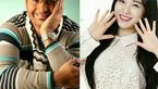 ازدواج عجیب بازیگر مرد ایرانی با بازیگر مشهور کره ای + عکس