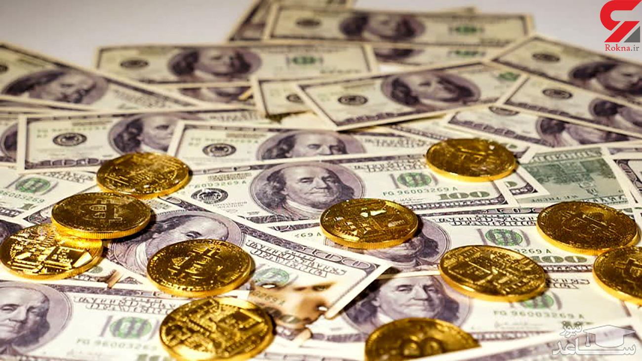 کاهش شدید قیمت دلار و قیمت سکه در بازار