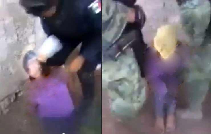 نمایش آزار و مرگ جنجالی یک زن توسط 2 سرباز مرزی + عکس