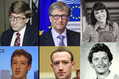 عکس های قبل و بعد از ثروتمند شدن میلیاردرها