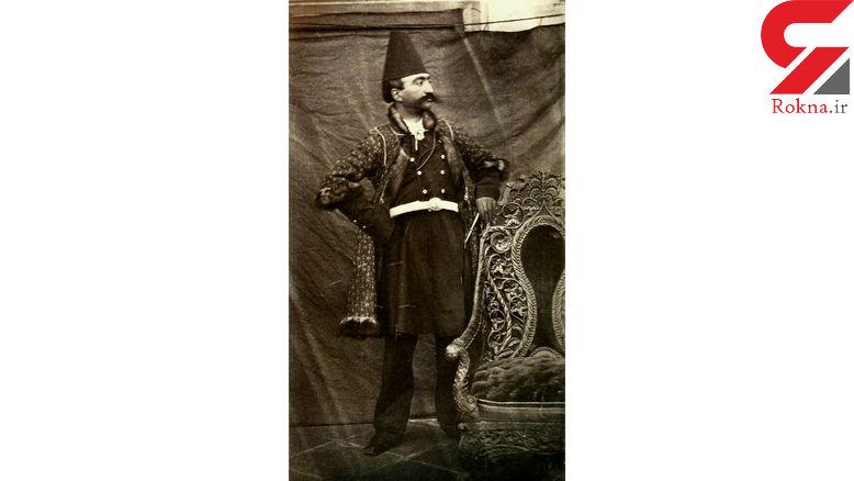 نخستین ایرانی که سلفی گرفت + عکس