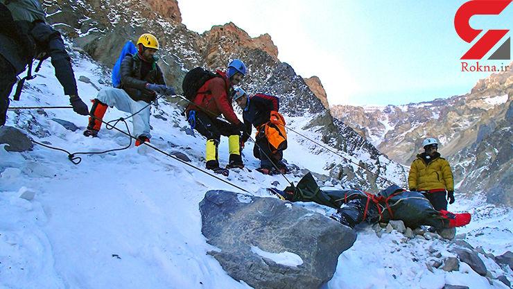 2 کوهنورد از ارتفاعات کافر قلعه مهدیشهر نجات یافتند