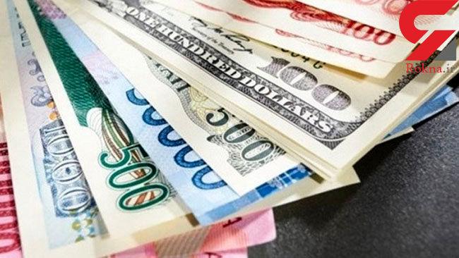 افزایش نرخ 13 ارز رسمی