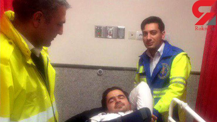 حادثه خونین برای تکنسین اورژانس تهران در حین انجام وظیفه+ عکس