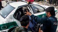 شرور خطرناک کرمانشاهی داخل کانال کولر دستگیر شد / او از ترس پنهان شده بود + عکس