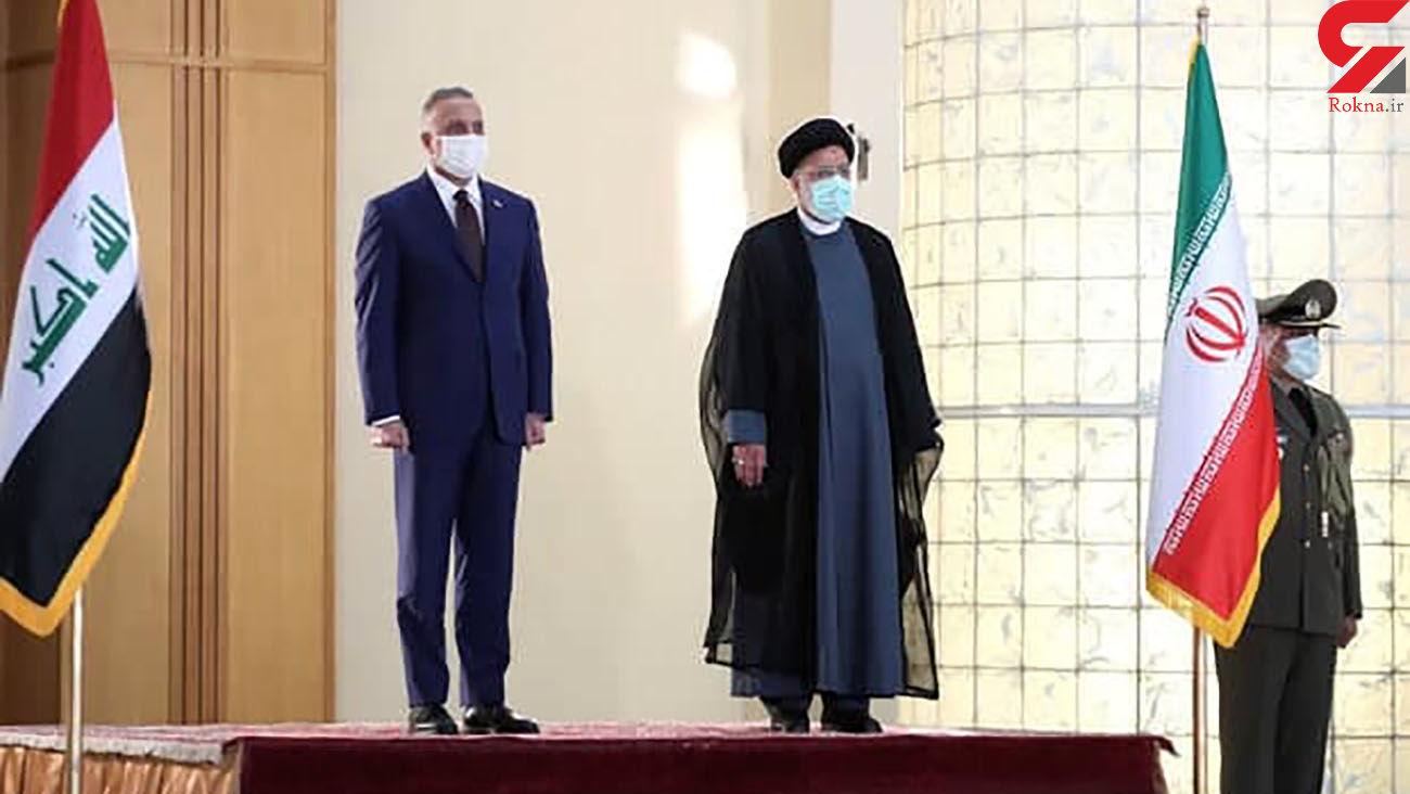 استقبال رسمی رییسجمهور از نخست وزیر عراق