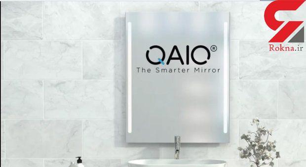 ابداع آینه هوشمند برای دستشویی