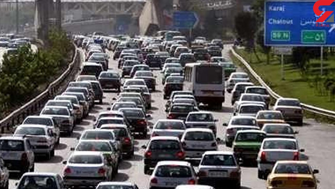 تشریح وضعیت ترافیکی معابر بزرگراهی تهران