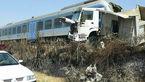 برخورد قطار و کامیون در گلوگاه ۳۰ مصدوم بر جای گذاشت+عکس