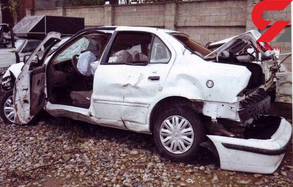 رانندگی مرگبار پسر  16 ساله در رشت + عکس