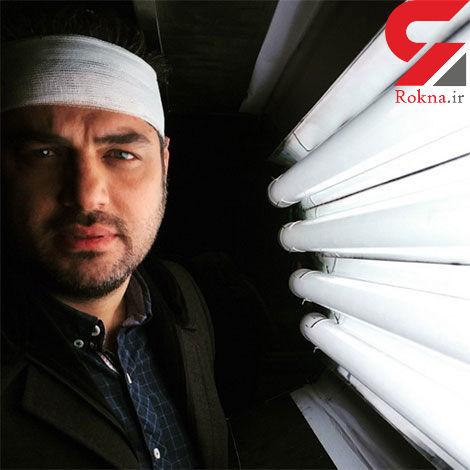 """سام درخشانی در پشت صحنه """"پشت بام تهران"""""""