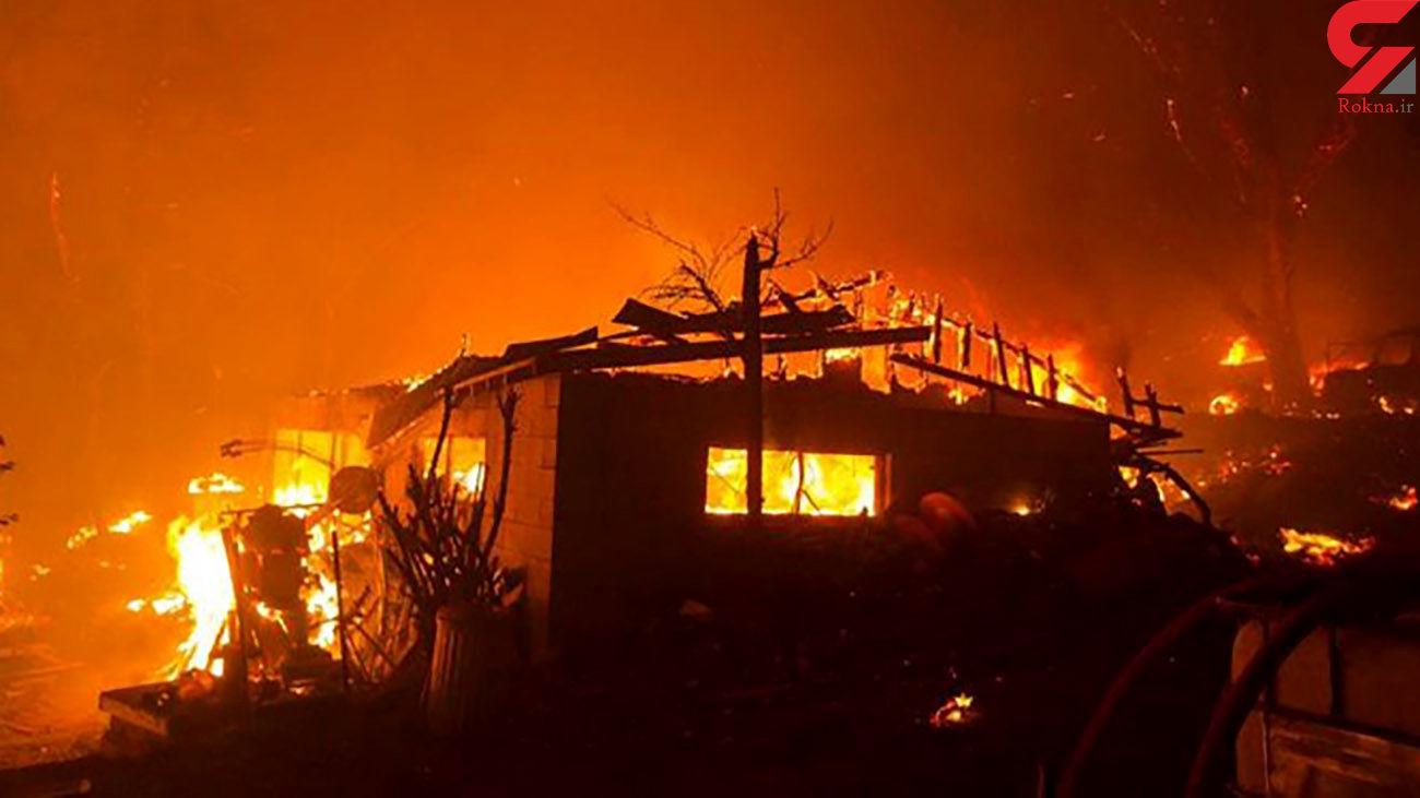 آتش سوزی مهیب این بار در لس آنجلس آمریکا + عکس ها و فیلم وحشتناک