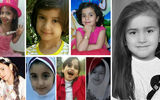 قتل 8 دختربچه 7 ساله ایرانی ! / از آتنا اصلانی تا ستایش قریشی + عکس های تلخ