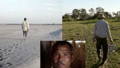 این مرد 39 سال کار کرد تا بیابان را تبدیل به جنگل کند! + عکس