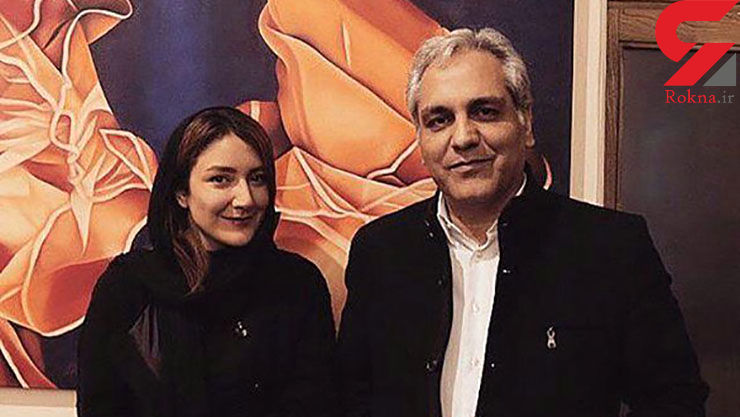 حاشیه برای مهران مدیری / عکس جنجالی او با خانم بازیگر لو رفت + عکس