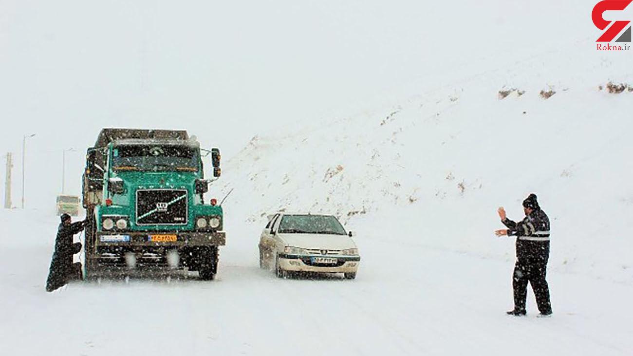 تردد تریلر از گردنه اسدآباد ممنوع شد