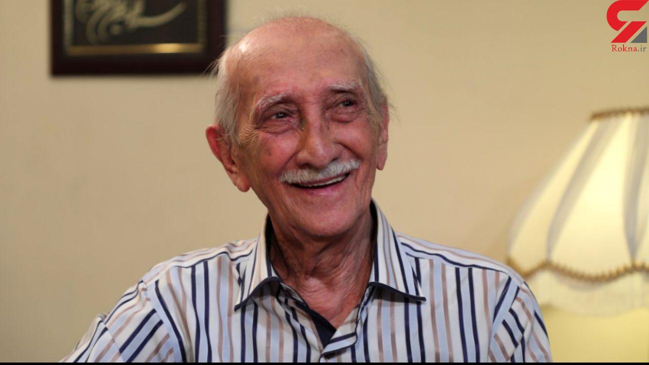 اولین حرفهای داریوش اسدزاده از روی تخت بیمارستان +فیلم