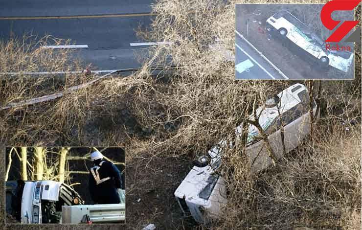 14 کشته در تصادف یک اتوبوس در ژاپن