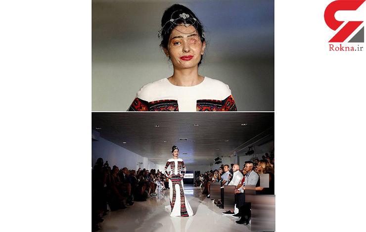 عکس استثنایی از یک شوی لباس زنانه