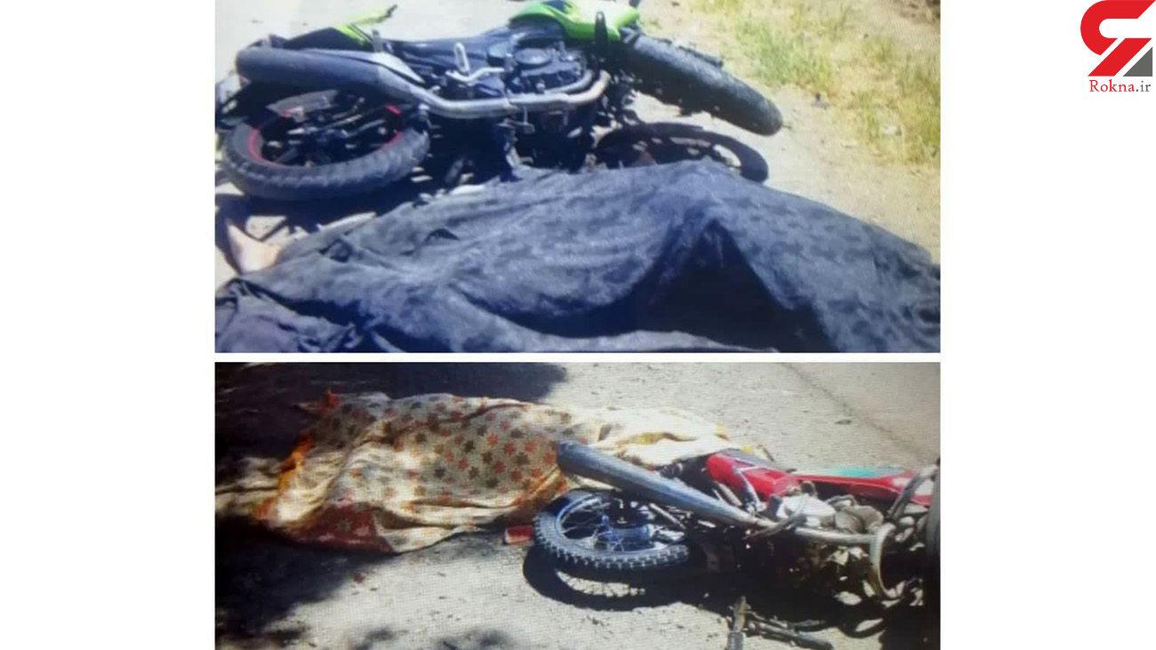 مرگ تلخ 2 جوان نیشابوری در تصادف شدید + عکس