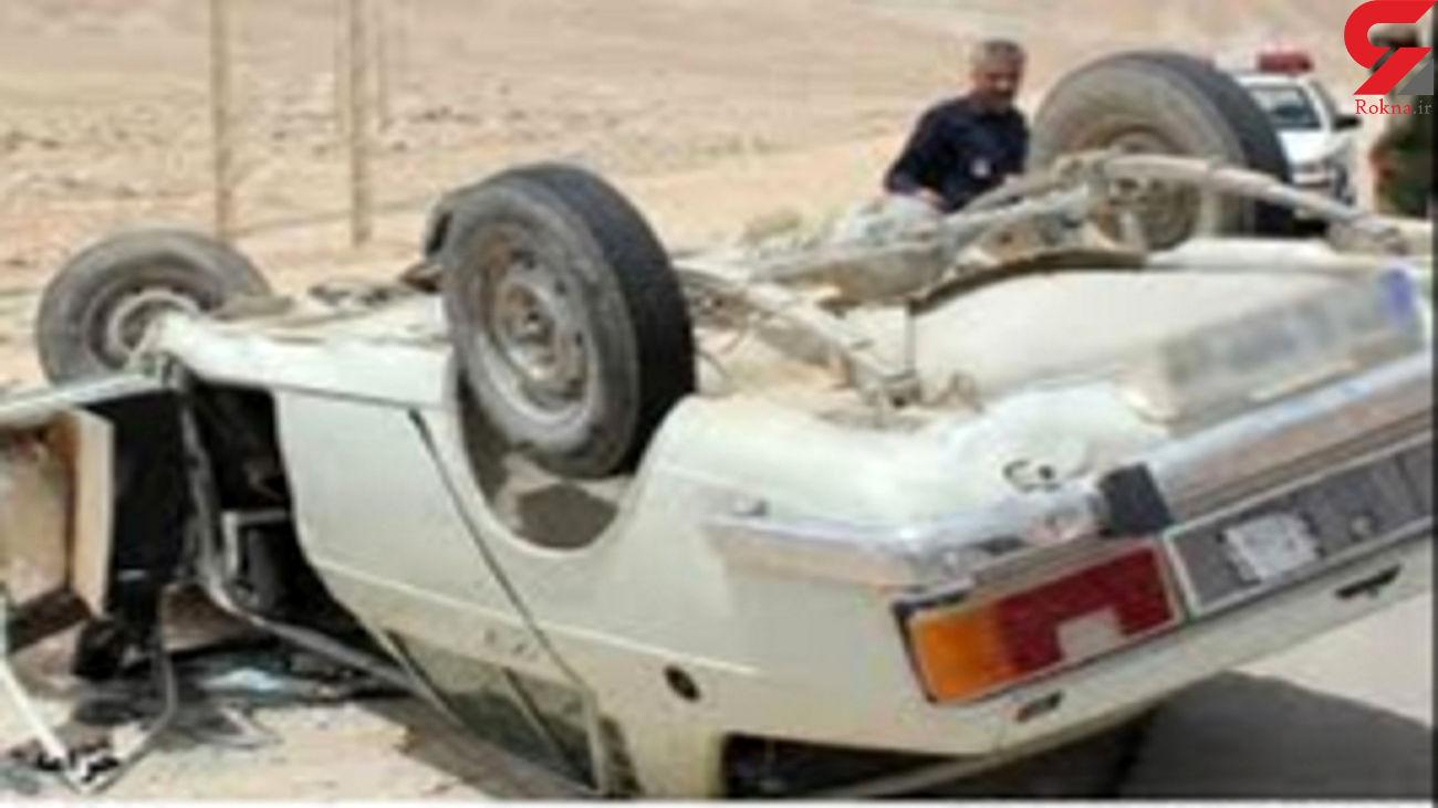 یک کشته و 4 مصدوم در حادثه محور روستایی بلنجیر به خور