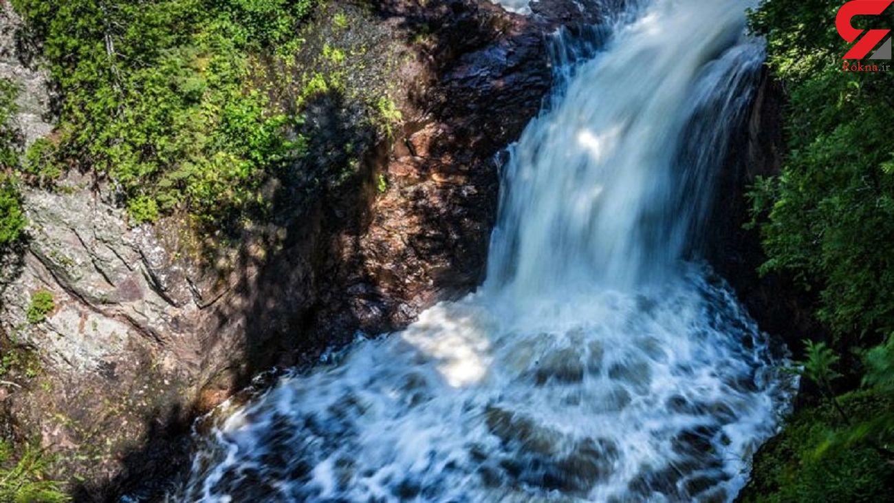 آبشار شیطان ناپدید میشود! + عکس