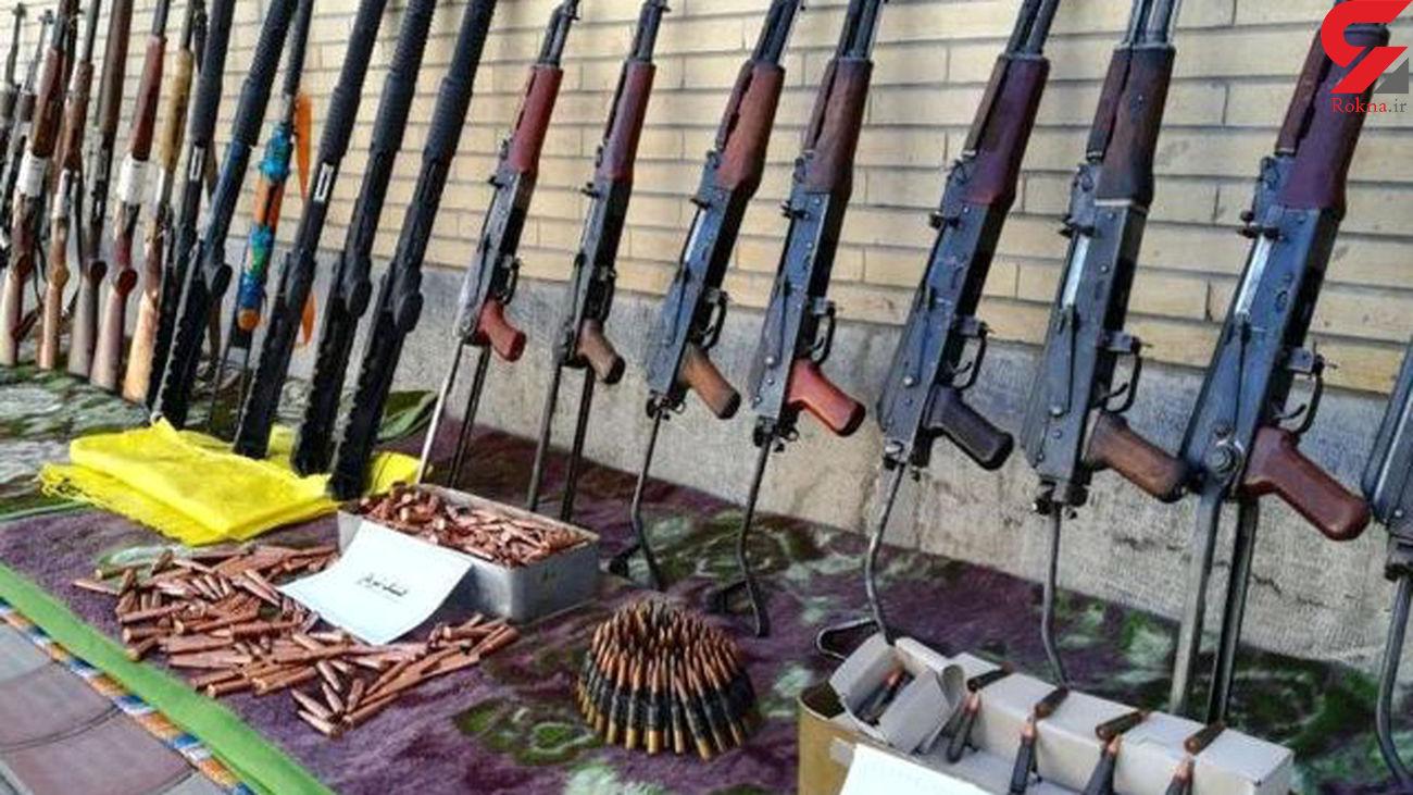 افزایش 20 درصدی کشفیات سلاح و مهمات / پلیس مشهد خبر داد