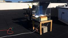 تولید بخار فوق داغ با استفاده از نور خورشید!