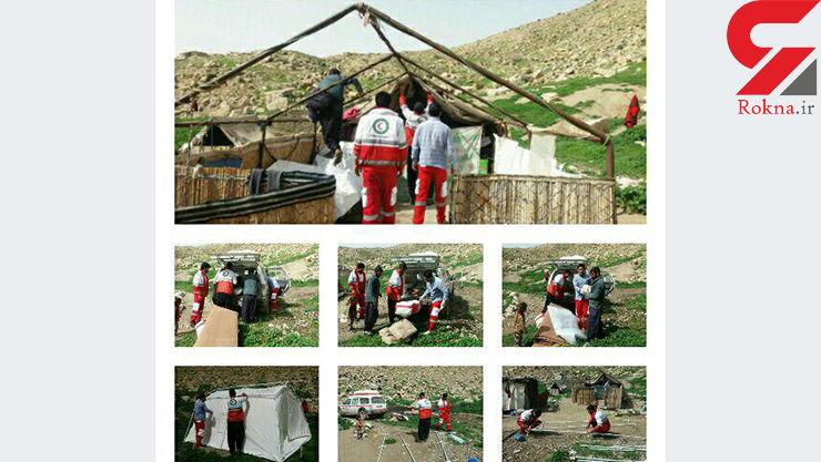 ماجرای گرفتار شدن خانواده ایلامی در کوه پشمین+ عکس