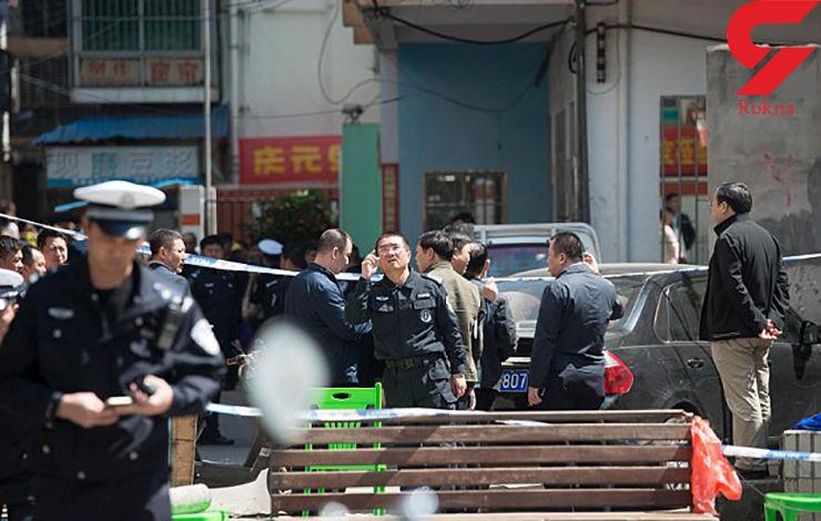 حمله مرد روانی با چاقو به مدرسه ابتدایی در چین