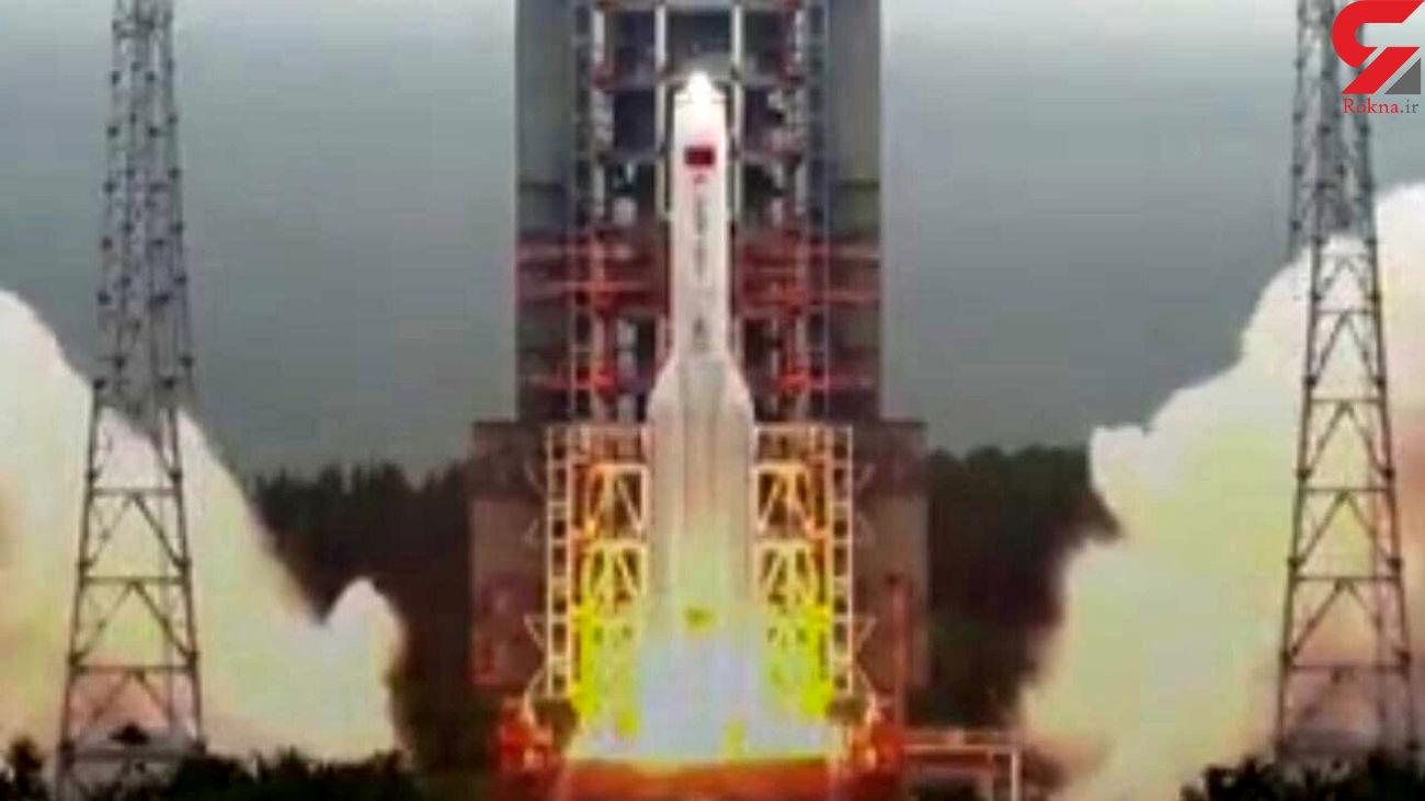 پرتاب موفق فضایی در چین + فیلم