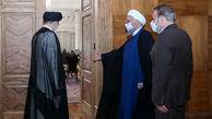 انتقال آرام قدرت دولت روحانی به رئیسی