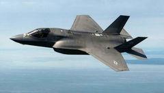 سقوط جنگنده آمریکایی در اقیانوس آرام