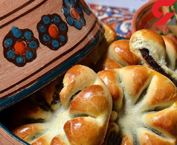 دستور پخت نان خرمایی خوشمزه و مقوی