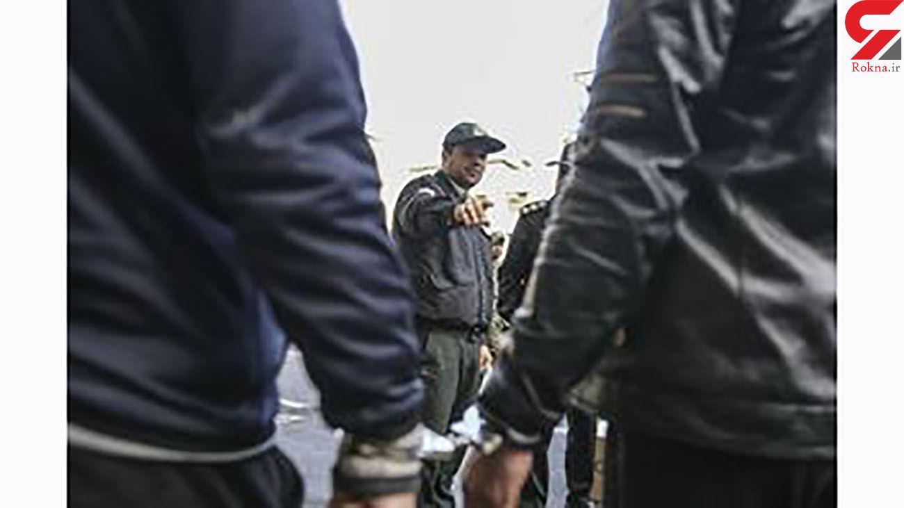 دستگیری گنده لات هایی که به پلیس هم رحم نکردند / در هرسین رخ داد