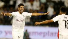 مهاجم باشگاه السد قطر در راه سفر به ایران خودش را خیس کرد+ عکس