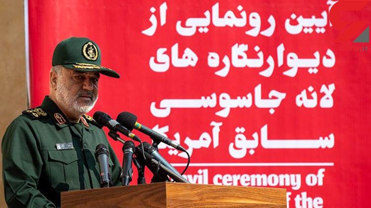 سردار سلامی: بیش از حد نیاز موشک ذخیره کرده ایم