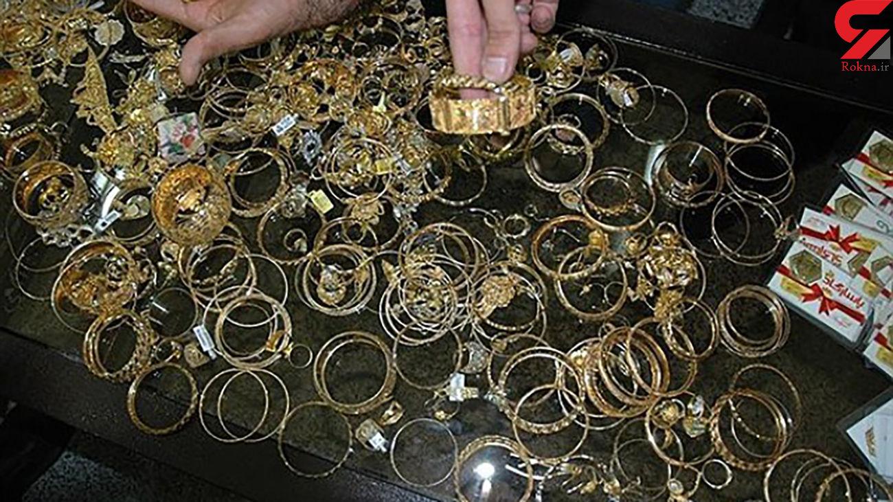 دزدی 3 و نیم کیلو طلای توقیف شده از دادسرای خاتم یزد + جزئیات