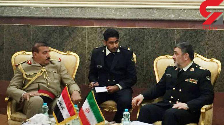 ارتقاء همکاری های مشترک مرزی ایران و عراق + فیلم